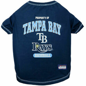 TAMPA BAY RAYS Premium Dog Pet Tee Shirt (all sizes)