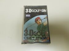 918 - 3d Game MSX golf Simulation (NEW/SEALED) Nº 2