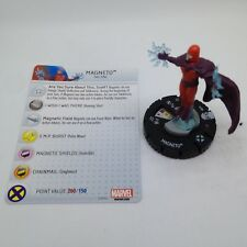 Heroclix Avengers vs X-Men set Magneto #014 Starter Set figure w/card!