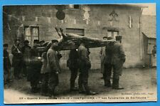 CPA: COETQUIDAN - Les funerailles de Guillaume  / Guerre 14-18