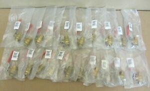 """Lot of 20 NEW 1/4"""" (0.25 Inch) Ball Valve, BRS (Brass), Full Port. MAS Model B-3"""