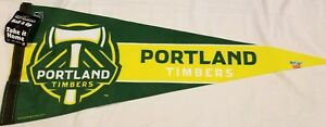 Portland Timbers Army Felt Pennant MLS Wincraft Made In USA 2010 Soccer