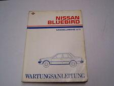 Wartungsanleitung Nissan Bluebird 1984
