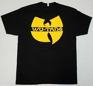 WU TANG CLAN T-shirt Gza Rza ODB Hip Hop Rap Tee Men's 100% Cotton Black New