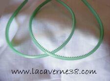 2 serres tête vert acrylique avec picots accessoires cercle cheveux
