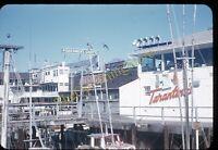Fisherman's Grotto San Francisco Tarantinos 1950s 35mm Slide Red Kodachrome