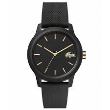 Lacoste 2001064 Damen 12.12 Schwarz Silikon Armbanduhr