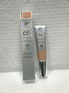 IT COSMETICS YOUR SKIN BUT BETTER CC+COLOR CORRECTING SPF50+NEUTRAL TAN 1.08 OZ