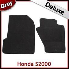 HONDA S2000 1999-2009 Tailored LUXURY 1300g Carpet Car Floor Mats GREY