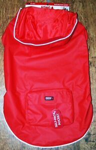 KONG red reflective water resistant coat Size L (43-46 cm Back length)