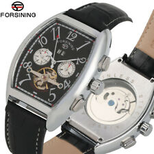 Forsining Brand Automatic Mechanical Business Watch for Men Tourbillon Watches