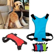 Dog Puppy Harness Pet Padded Soft Mesh Car Collar Safety Strap Vest HD