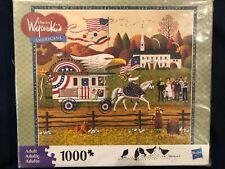 Milton Bradley Hasbro Jigsaw Puzzle Proudly We Hail Charles Wysocki 1000 Pieces