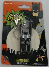 DC Bendable Batmobile 3D Key Chain Batman Classic TV Series Keychain