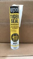 TIG/BW NEW Tiger Seal UPol  310ml Polyurethane Adhesive Sealent WHITE