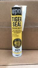 U-POL Tiger Polyurethane Sealant and Adhesive - Black, 310 ml