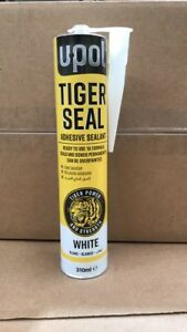 TIG/BW NEW Tiger Seal UPol  310ml Polyurethane Adhesive Sealent WHITE