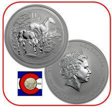 2014 Lunar Horse 5 oz Silver Coin, Series II, Australia