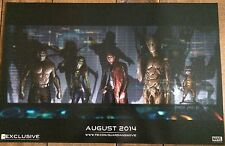 The Guardians Of The Galaxy SDCC 2013 PROMO POSTER RARE! PLUS EXTRA POSTER!