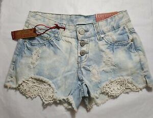 Amethyst Jeans Regular Size 0 High Rise Shorts