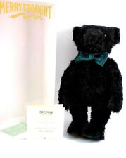 Vintage Merrythought Mohair Bear Black Watch New Years Eve Bear Boxed