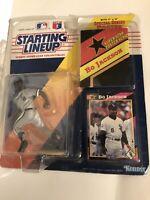 Starting Lineup 1992 Bo Jackson Chicago White Socks with Card SLU MLB Kenner
