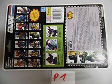 P1 firefly gi joe  US full card fullcard
