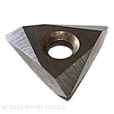 RISHET TOOLS TNMC 32NV C5 Uncoated Carbide Inserts (10 PCS)