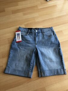 Ladies DKNY Jeans Denim Shorts Blue UK 12/ USA 8