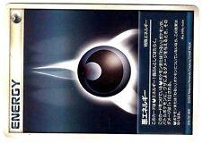 PROMO POKEMON JAPANESE CARD N° DARKNESS ENERGY 2003