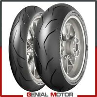 Dunlop SportSmart TT 1207017 + 1805517 Set Gomme Moto Pneumatici Radiali 2019