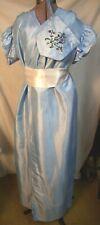 Women's Regency/Jane Austen Blue Dress Perfect for The Jane Austen Festival