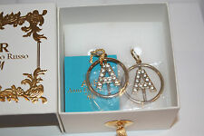 NEU ANNA DELLO RUSSO at H&M Ohrringe GOLD FAMILY, Etikett, OVP earrings AdR
