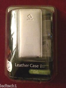 iPod nano  Gen 1& 2 Leather Case by Capdase - Vertical  Flip-Style *** BNIB ****