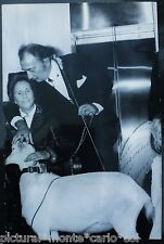 DALI*GALA*PHOTO*RARE*1969*HAPPENING*PARIS*ARGENTIQUE*ORIGINAL*SILVER*