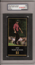 1997 GRAND SLAM VENTURES CHAMPS OF GOLF ROOKIE TIGER WOODS - PERFECT GEM MT 10!
