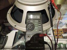 """Electro Voice EV SRO 12"""" speaker """"Coffee Can"""" AlNiCo 76574 Professional Reconed"""