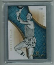 2012-13 PANINI IMMACULATE GEORGE MIKAN #47 BASE CARD 36/99 HOFER