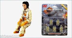 HOBBY MASTER 1/72 World War II US Pilot Figures Set HP0001