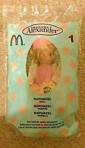 2003 Madame Alexander Doll McDonalds Happy Meal Toy  - Rapunzel #1