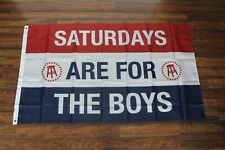 New Saturdays are For the Boys Banner Flag 3x5 #SAFTB Barstool Beer USA Shipper
