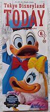 RARE JUNE 2001 TOKYO DISNEYLAND TODAY SOUVENIR PARK GUIDE MAP GUIDEBOOK JAPANESE