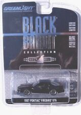GREENLIGHT BLACK BANDIT SERIES 11 1987 PONTIAC FIREBIRD GTA
