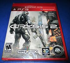 Crysis 2 Sony PlayStation 3 *Factory Sealed! *Free Shipping!