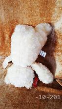 "Adorable Curly Wavy Soft Fur Tan Brown Teddy Bear 11"" Plush - Aurora"