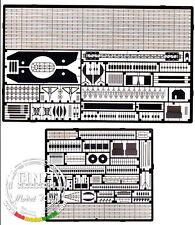Eduard 53002 1/350 German Bismarck Detail Set for Tamiya kit