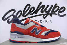 NEW BALANCE 997 CONNOISSEUR RETRO SKI RED NAVY SILVER M997CSIY SZ 8