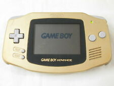 Y2549 Nintendo Gameboy Advance console Gold Japan GBA