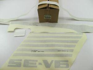 NEW Genuine R.H. Right Stripe Kit OEM For 1993-1997 Nissan D21 SE-V6 Pickup