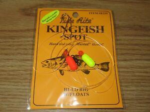 1 KINGFISH SPOT RIGS TIDE RITE R255 HI-LO FLOAT  SALTWATER RIG FISHING